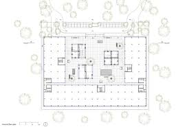 floor plan for office building office building tamir addadi architecture