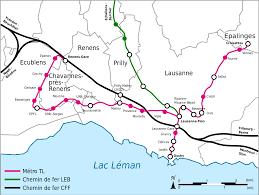Virginia Metro Map by Lausanne Metro Map Switzerland