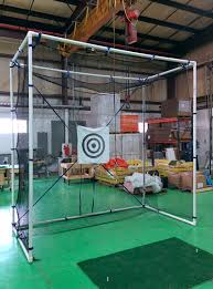 golf cages golf practice nets and impact panels indoor u0026 outdoor