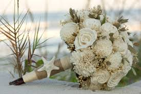 theme wedding bouquets sola bouquet inspired wedding bouquet coastal wedding