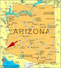 yuma arizona tourist map yuma az mappery reference map of arizona