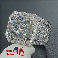 cheap engagement rings for men mens white gold ring ebay