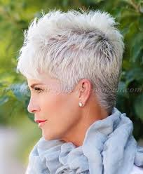 spiky short hairstyles for women over 50 short hairstyles over 50 spiky short hairstyle for grey hair