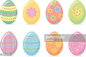 pastel easter eggs pastel easter egg border vector getty images