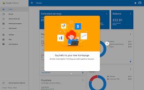 the new google adsense user interface built with angulardart