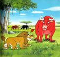 วัวสามสหาย... กับสิงห์โต* | สาระ ความรู้ ข่าวสาร ความบันเทิง ของ ...
