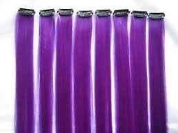 purple hair extensions purple hair extensions ebay