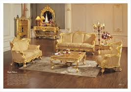 Royal Furniture Living Room Sets China Factory Wooden Carved Luxury European Sofa Set Living Room