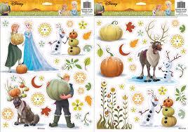 amazon com disney frozen window cling set toys u0026 games