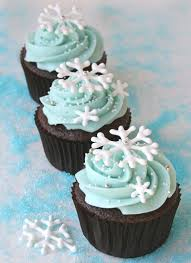 snowflake cupcakes royal icing birthdays and boys