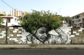 30 pieces of street art that cleverly interact with nature bored
