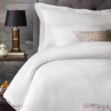 White Linen Duvet Malouf
