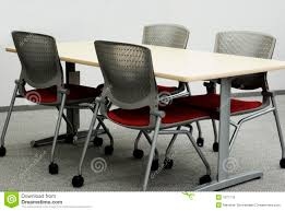 Office Tables Office Tables And Chairs Royalty Free Stock Images Image 1877719