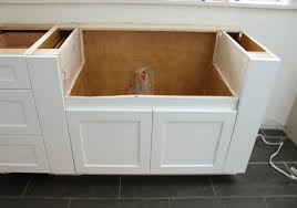 how to install an apron sink in an existing cabinet things to about buying installing a stainless steel