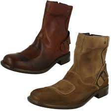 classic leather motorcycle boots mens base london classic brown or taupe casual leather moto boots