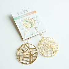 Portland Maps Com by Portland Map Earrings U2013 Crafty Wonderland
