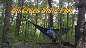 Raccoon Creek State Park Map by Hammock Camping Oil Creek Pa Backpacking The Gerard Trail Youtube
