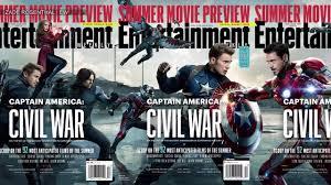 captain america civil war u0027 the marvel universe explodes in ew