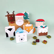 christmas favor box printables christmas holidays free