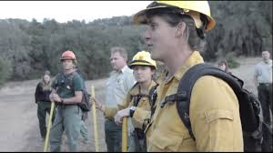 Wildfire Training by Los Padres National Forest 2016 Women In Wildfire Training Camp