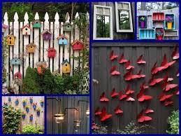 35 diy fence decorating ideas creative garden decor