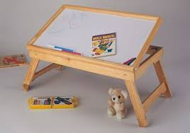 buy multipurpose wooden foldable bed tray laptop table white board