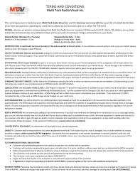 audio visual equipment u0026 services terms and conditions multi tech audio visual
