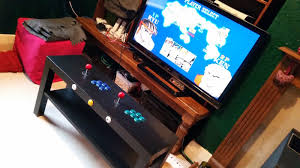 Table Top Arcade Games Build This Two Player Arcade Table From A Raspberry Pi And Ikea Parts