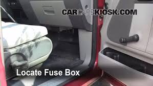 2007 ford mustang fuse box location interior fuse box location 2004 2008 ford f 150 2007 ford f 150