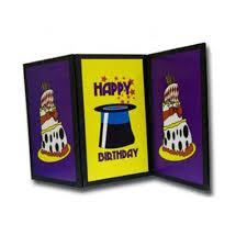 birthday card magic screen trick fast shipping magictricks com