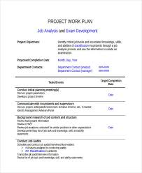 36 examples of work plans
