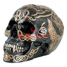 Celtic Skull - black celtic skull cc9254 from armoury