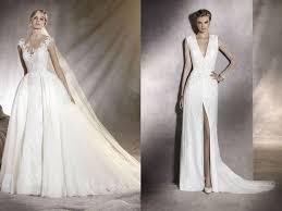 robe de mari e pronovias les robes de mariée pronovias collection 2017 femme actuelle