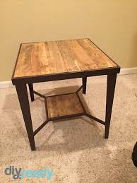 How To Make A Wood End Table by How To Make A Wooden Table Diy Tutorials Diy Projects Craft