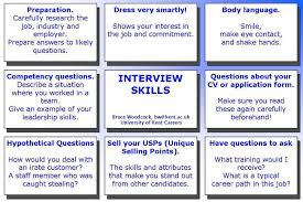 Good Interests To Put On Resume Interview Skills