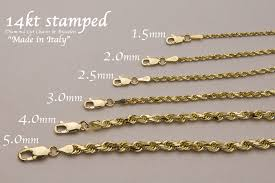 chain necklace ebay images 14k gold rope chain 14k gold rope chain necklace ebay white jpg