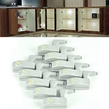 lumiere led pour cuisine 10 pcs universelle intérieure charnière led capteur nigjt lumière