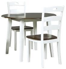 drop leaf table design round drop leaf table signature design by 3 piece round drop leaf