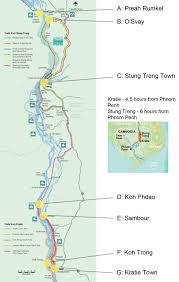 Irrawaddy River Map Mekong Discovery Trail River Life Adventures Cambodian Pride Tours