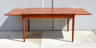 White Mid Century Dining Table Dining Room Furniture Mid Century Modern Dining Room Furniture