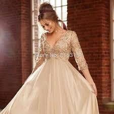 aliexpress com buy champagne long dress chiffon maternity