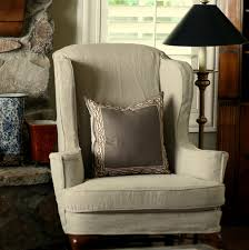 Slipcover For Wingback Chair Design Ideas Strandmon Wing Chair Djupare Green Chair Design Ideas