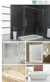 Mirolin Shower Door Mirolin Tubs Shower Doors Acrylic Tubs Frameless Glass Shower