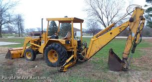 1976 john deere 410 backhoe item bz9956 sold december 2