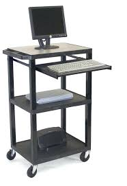 Small Rolling Computer Desk Rolling Computer Desk Small Rolling Computer Desk Roll Top