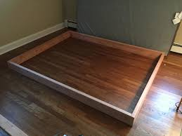 How To Make A Platform Bed From A Regular Bed by This Guy Made A Diy Floating Bed In 19 Simple Steps U2026 Wait Till You