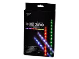 Led Strip Lights Remote Control by Amazon Com Deepcool Rgb 380 Led Strip Radio Frequency Remote