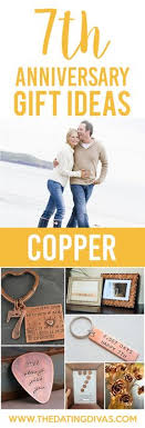 7 year anniversary gift ideas 7 year copper anniversary gift pinteres