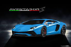 Blue Lamborghini Aventador - is this the 2017 lamborghini aventador s gaskings car news