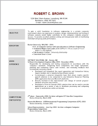 Sample Resume Objectives For New Teachers by Sample Resume Objectives For New Teachers Finance Internship
